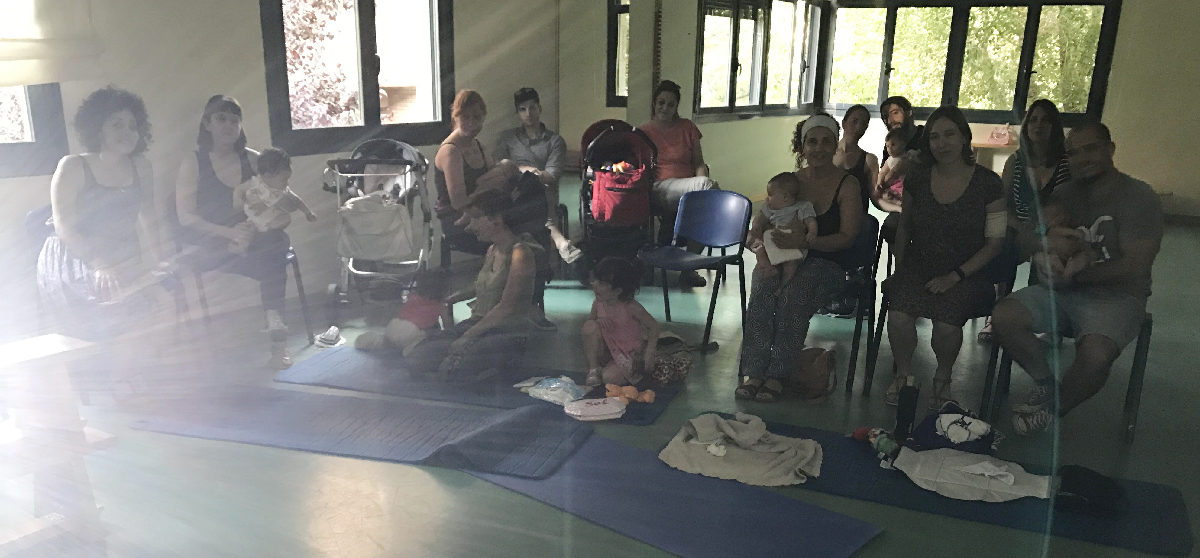 taller de baby-led weaning con Natural Wean