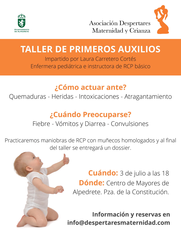taller primeros auxilios infancia