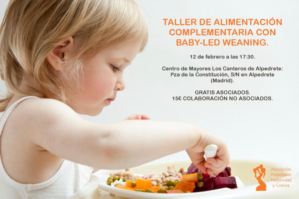 taller de baby-led weaning