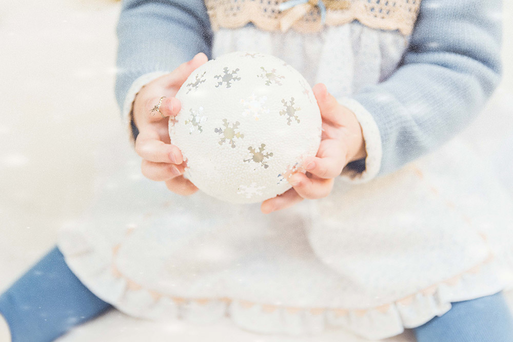 taller de manualidades de navidad asociación despertares maternidad